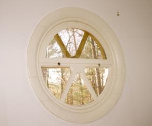 One tiny window!