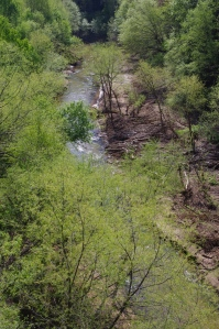 A view from the bridge.