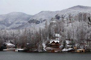 Lake Lure in the Winter