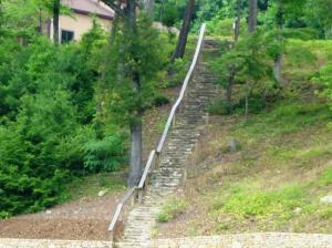 "The famous stairs ""Baby"" took to adulthood."