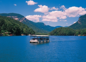 Lake Lure in the Summer
