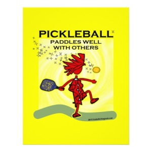 For the entrepreneur, now is a good time to design some pickle ball clothing.
