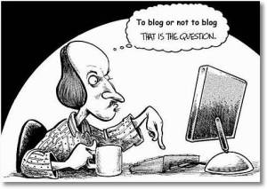 no blogging